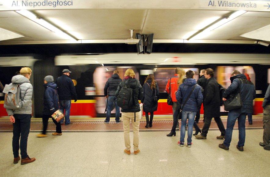 Metro postaje imajo nenavadno sestavo zraka.