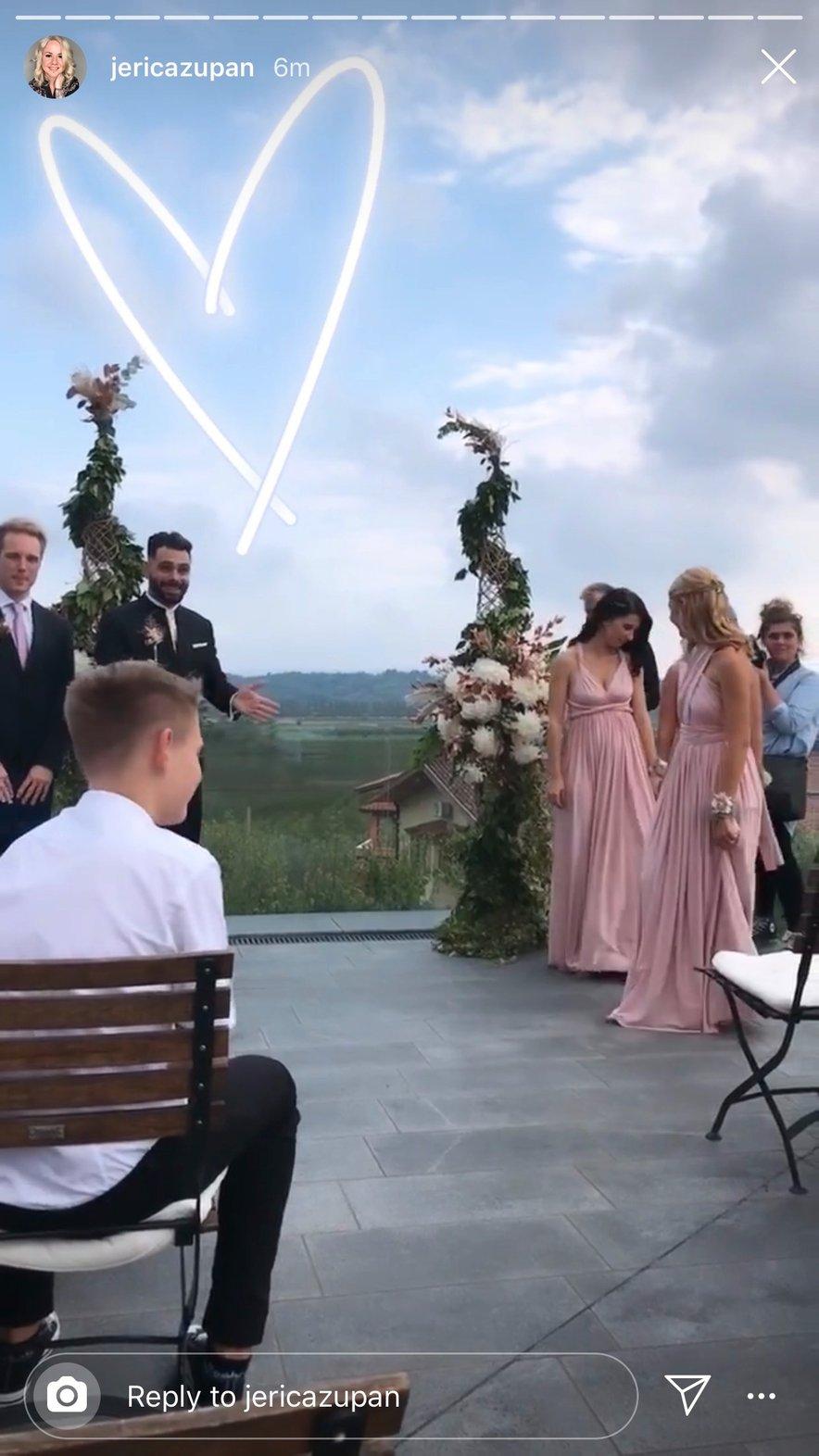 Poroka Teje in Janija
