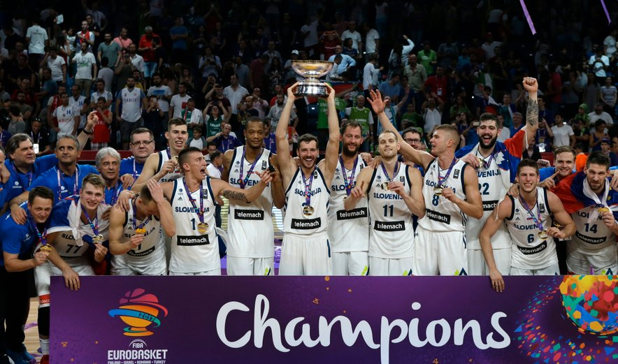 Slovenci - Evropski prvaki v košarki 2017