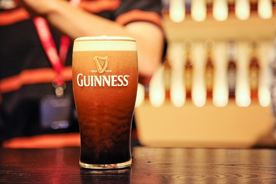 Edinstvena Guinnessova pena.