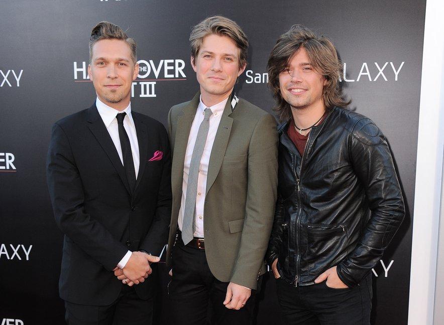Isaac, Taylor in Zac Hanson