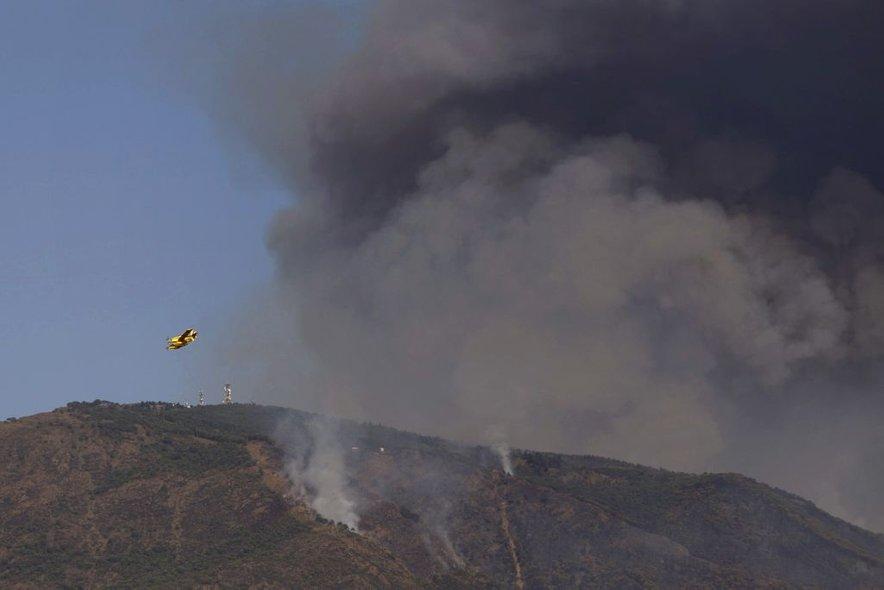 Požar v Španiji-2