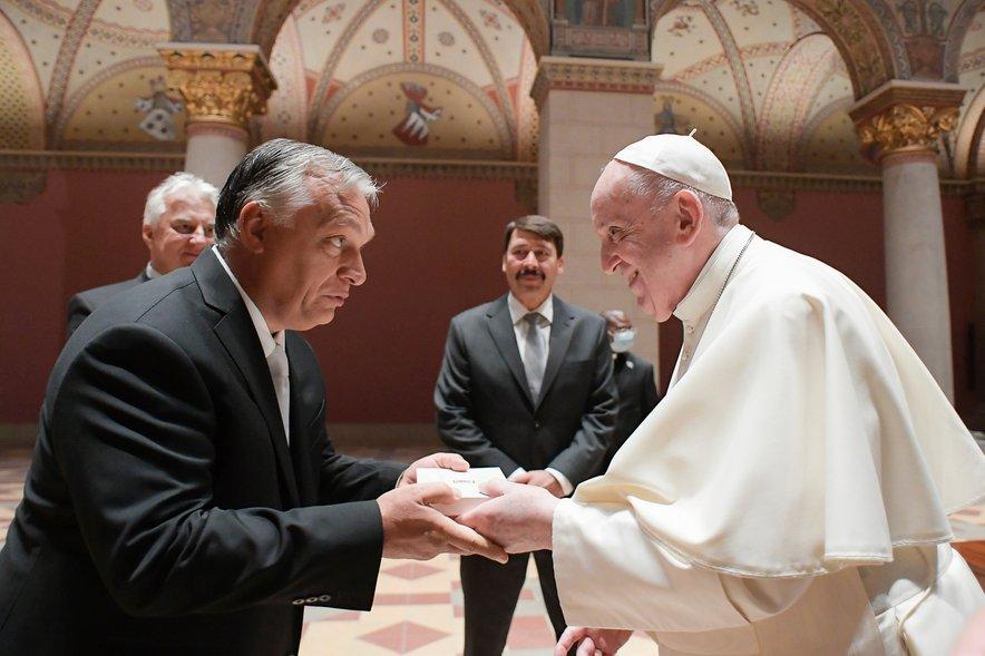 Viktor Orban in papež Frančišek