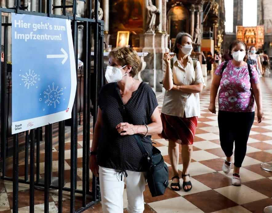 Število covidnih bolnikov v avstrijskih bolnišnicah se je v zadnjih 24 urah povečalo za 20.