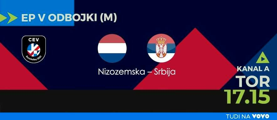 Nizozemska vs Srbija