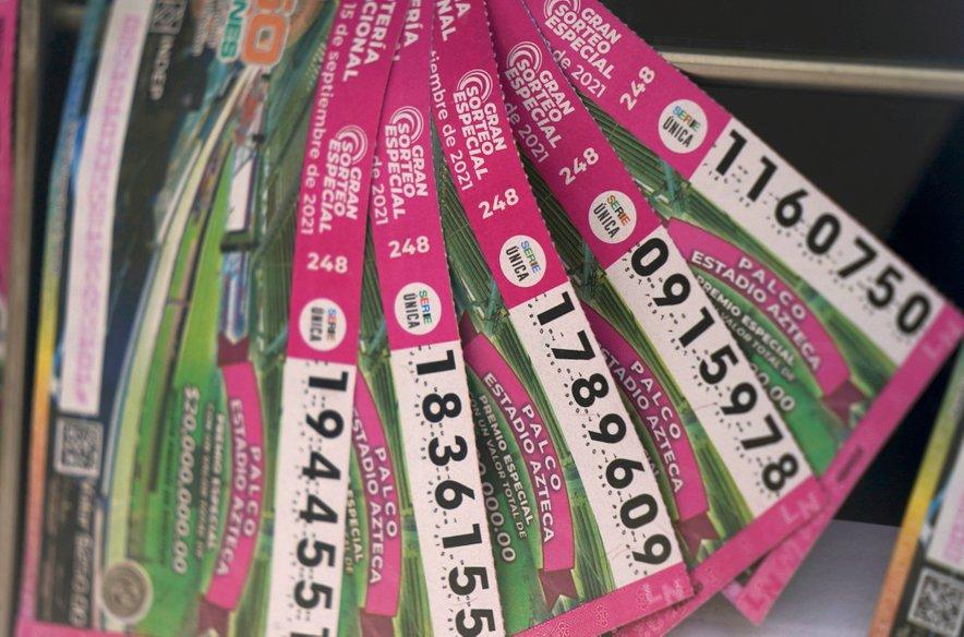 Srečke mehiške loterije