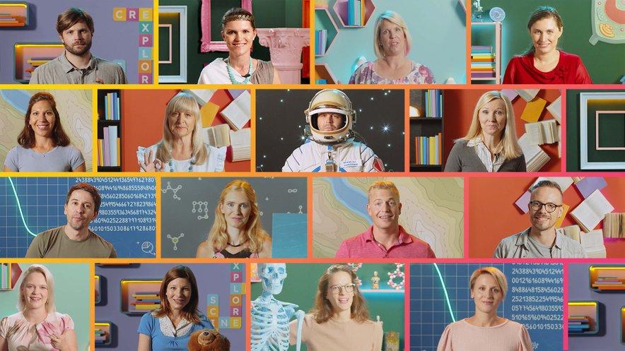 5KA ponuja 12 predmetov, 16 učiteljev in več kot 1100 filmčkov s poučno vsebino.