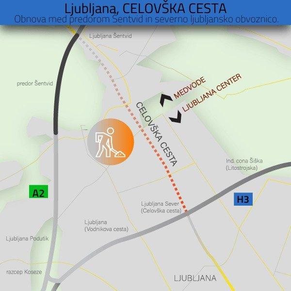 Obnova Celovške ceste