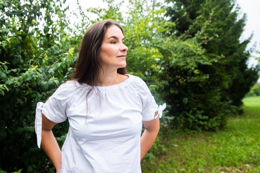 Ana Dežman je imeni za svoja otroka izbrala, ko ju je prvič zagledala.