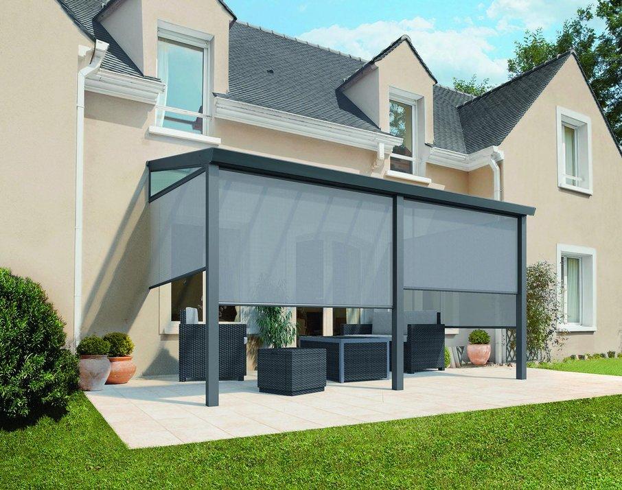 S paviljonom lahko dnevno sobo podaljšate na teraso.