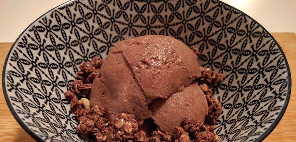 Sladoled iz dveh sestavin