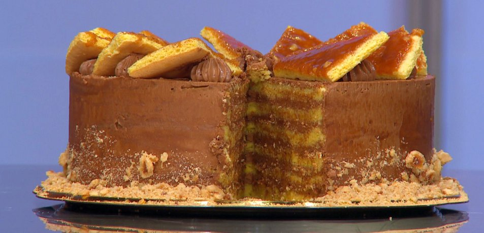 Doboš torta (iz MasterChef Slovenija)
