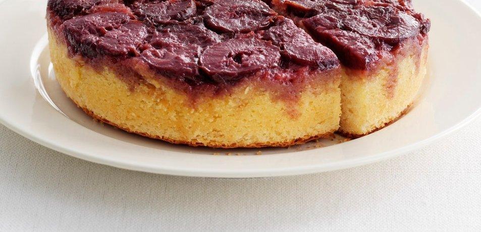 Obrnjen slivov kolač