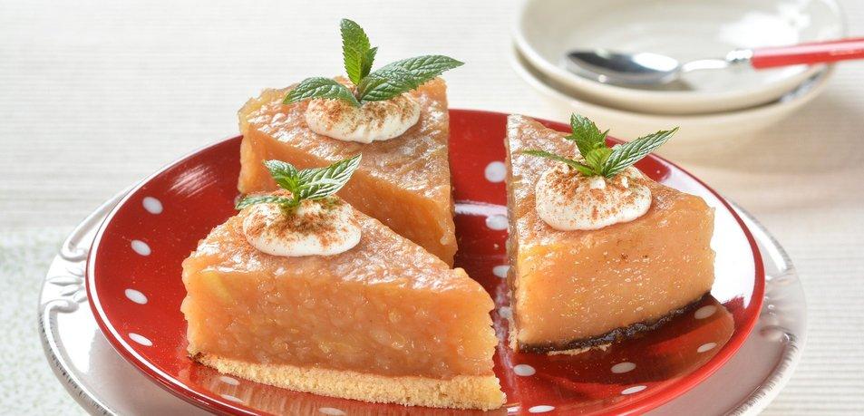 Jabolčno-pudingova torta