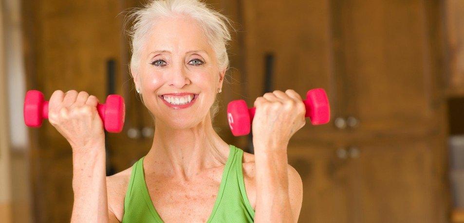 Zato je pomembno, da se starejše ženske gibajo