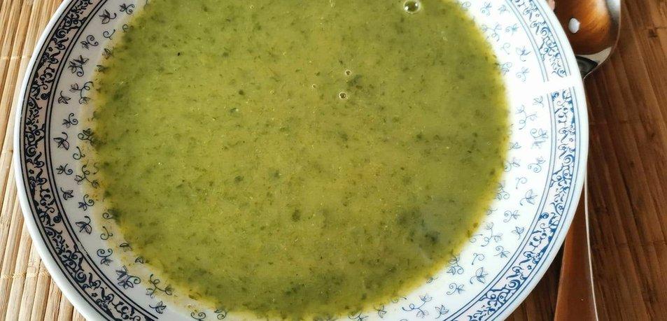 Čemaževa juha s krompirjem