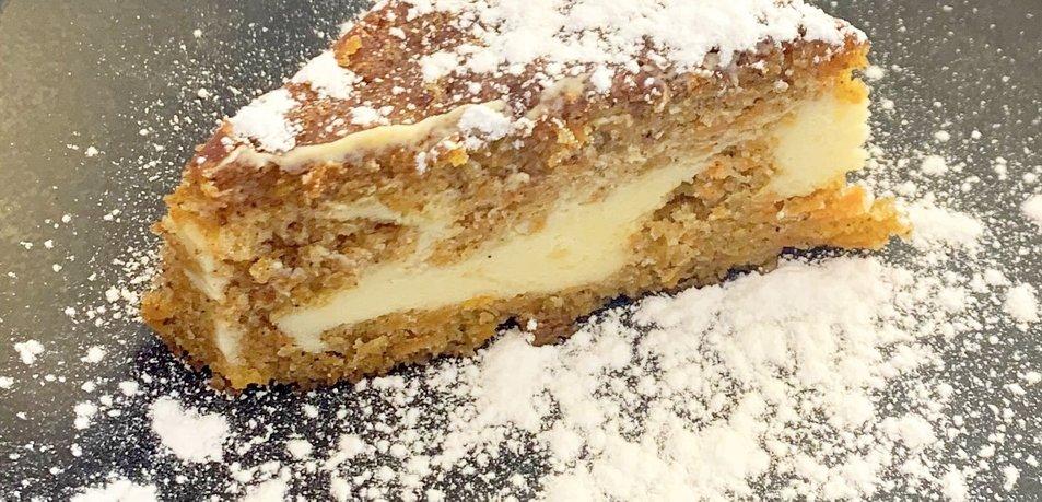 Korenčkov cheesecake