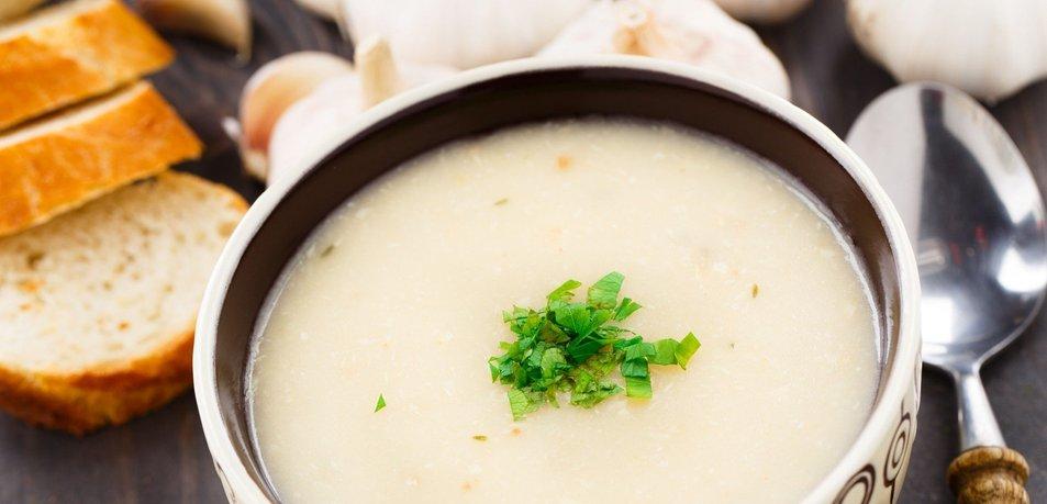 Česnova kremna juha