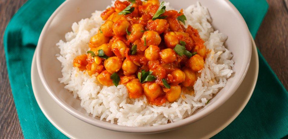 Čičerikin curry (Punjabi Chole)