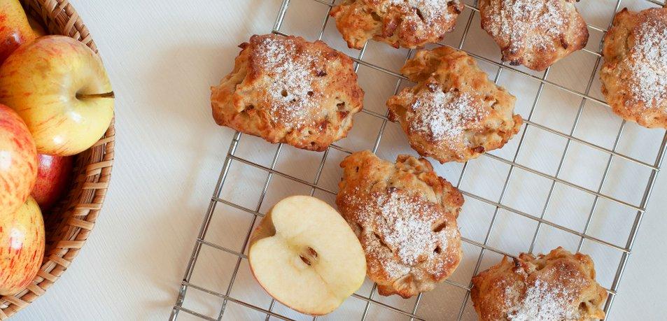 Slastni jabolčni piškoti